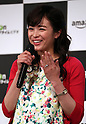 "May 31, 2016, Tokyo, Japan - Cast of Amazon Japan's original drama ""Hapimari, Happy Marriage!?"" Nana Seino smiles at a promotional event for Amazon Prime Video in Tokyo on Tuesday, May 31, 2016. Amazon Japan announced they would increase original contents for Amazon' video distribution service in Japan.      (Photo by Yoshio Tsunoda/AFLO)"