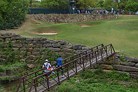 Rory McIlroy (NIR) walks across the bridge to the green on 4 during day 4 of the WGC Dell Match Play, at the Austin Country Club, Austin, Texas, USA. 3/30/2019.<br /> Picture: Golffile | Ken Murray<br /> <br /> <br /> All photo usage must carry mandatory copyright credit (© Golffile | Ken Murray)