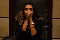 RIO DE JANEIRO, RJ, 14.06.2018 - MARIELLE FRANCO - No dia em que o assassinato da Vereadora Marielle Franco completa três meses aconteceu na Camara Municipal do Rio de Janeiro o lançamento do Relatório da Comissão da Mulher, que foi presidido por Marielle por um ano e três meses, Cinelândia, Rio de Janeiro, Nesta quinta-feira, 14 (Foto: Vanessa Ataliba/Brazil Photo Press)