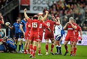 28.02.2015. Stade de France, Paris, France. 6 Nations International Rugby. France versus Wales.  Wales is triumphant at the final whistle