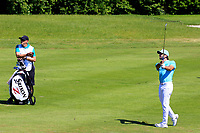 Jo&euml;l Stalter (FRA) in action during the final round of the Lyoness Open powered by Organic+ played at Diamond Country Club, Atzenbrugg, Austria. 8-11 June 2017.<br /> 11/06/2017.<br /> Picture: Golffile | Phil Inglis<br /> <br /> <br /> All photo usage must carry mandatory copyright credit (&copy; Golffile | Phil Inglis)