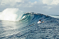 Namotu Island Resort, Fiji.  (Wednesday, March 23, 2011). Surf in the 6' range provided  sessions at Wilkes, Namotu Lefts and Cloudbreak today.  . Photo: joliphotos.com