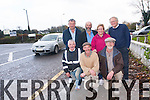 Residents in Lissivigeen are calling for speed reductions on the main Killarney to Cork Road at Coolcaslagh and Pike Hill. <br /> Front L-R Michael O'Donoghue, Pat Lehane and Noel O'Keeffe. <br /> Back L-R Pat O'Connor, Cllr Danny Healy Rae, Annettte O'Donoghue and Christy Fitzgerald.