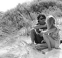 Pierre Louis Coastes and girlfriend at Gas Bay in Margaret River in Western Australia.