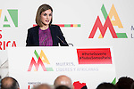 Queen Letizia of Spain attends the annual meeting of the Board of the Foundation for African women in Madrid, November 16, 2015.<br /> (ALTERPHOTOS/BorjaB.Hojas)
