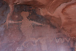 Petroglyph Canyon, Zion NP, Utah, rock art