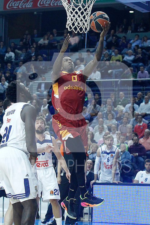 Galatasaray Odeabank Istambul's Russ Smith during Euroleague, Regular Season, Round 5 match. November 3, 2016. (ALTERPHOTOS/Acero)
