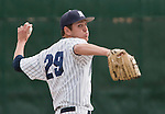 March 30, 2012:   Nevada Wolf Pack relief pitcher Barry Timko throws  against the BYU Cougars during their NCAA baseball game played at Peccole Park on Friday afternoon in Reno, Nevada.