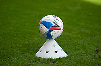 A disinfected Mitre match ball ready for use<br /> <br /> Photographer Andrew Vaughan/CameraSport<br /> <br /> The EFL Sky Bet League One - Saturday 12th September  2020 - Lincoln City v Oxford United - LNER Stadium - Lincoln<br /> <br /> World Copyright © 2020 CameraSport. All rights reserved. 43 Linden Ave. Countesthorpe. Leicester. England. LE8 5PG - Tel: +44 (0) 116 277 4147 - admin@camerasport.com - www.camerasport.com - Lincoln City v Oxford United