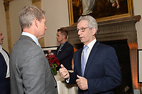 New York City, NY - MAY 23: (L-R) Rob Stone, Lead Studio Analyst and JP Dellacamera, Lead WWC Paly-by-Play Announcer attend the Fox Sports FIFA Women's World Cup Send-off at the Consulate General of France in New York City. (Photo by Anthony Behar/Fox Sports/PictureGroup)