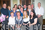 6452-6456.NIFTY FIFTIES: Maura Fair, Birmingham (seated 2nd left) and Rosaleen Collins, Listellick, Tralee (seated 3rd left) both celebrated their 50th birthday's last Saturday night in Gally's bar/restaurant, Tralee, also seated is Maura's Aunt, Betty O'Brien, The Spa (far left) and Margaret Richard's (right). Back l-r: Barry Richards, Elma Collins, Liz Clarke, Katty O'Brien, Becky Thomas, Eileen & Patrick Fair, Mark Greeff, Padraig O'Brien and Steve Whittall