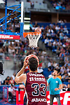Rio Natura Monbus Obradoiro's player Alberto Corbacho during the 3 shot contest of Supercopa of Liga Endesa Madrid. September 24, Spain. 2016. (ALTERPHOTOS/BorjaB.Hojas)