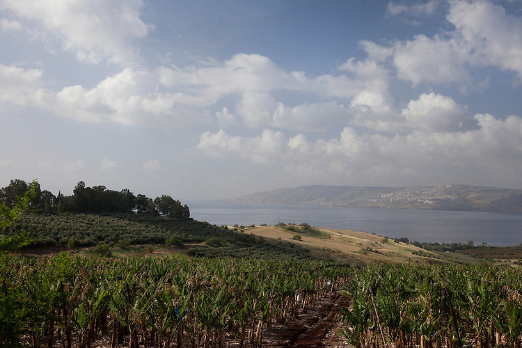 Mount of  Beatitudes overlooks the Sea of Galilee and is where Jesus delivered the Sermon on the Mount
