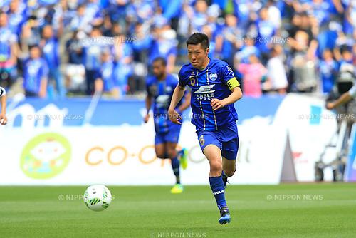 Ri Han Jae (Zelvia), APRIL 23, 2016 - Football /Soccer : 2016 J2 League match between FC Machida Zelvia 1-0 V.Varen Nagasaki at Machida Stadium, Tokyo, Japan.  (Photo by AFLO SPORT)