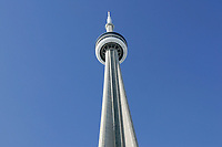January 22, 2005, Toronto (Ontario) CANADA<br /> The CN tower, a touristict landmark  in Toronto, canada<br /> Photo (c) 2005 P Roussel / Images Distribution