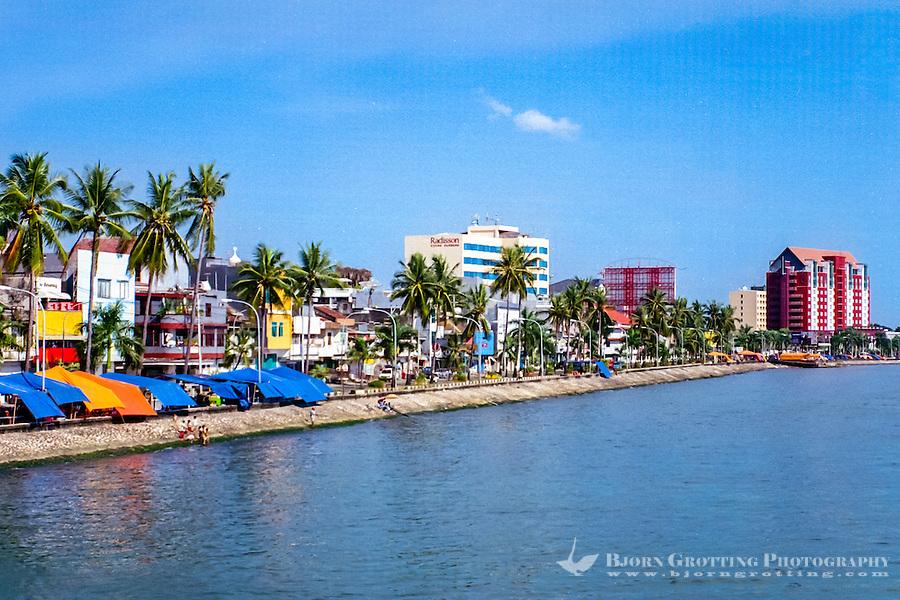 South Sulawesi, Makassar. Pantai Losari with it's many foodstalls.