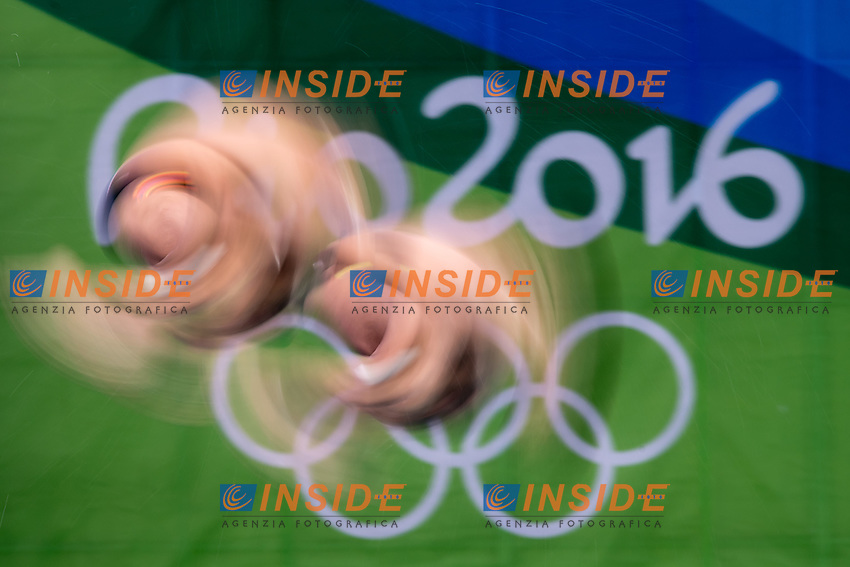 Team USA BOUDIA David JOHNSON Steele<br /> 10m platform synchro men<br /> Rio de Janeiro  XXXI Olympic Games <br /> Olympic Aquatics Stadium <br /> diving 08/08/2016<br /> Photo Giorgio Scala/Deepbluemedia/Insidefoto