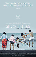 Theatrical one-sheet for  <br /> Shoplifters (2018) <br /> Manbiki kazoku (2018)<br /> *Filmstill - Editorial Use Only*<br /> CAP/RFS<br /> Image supplied by Capital Pictures