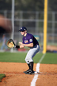 December 28, 2009:  Payton Scott (9) of the Baseball Factory Tigers team during the Pirate City Baseball Camp & Tournament at Pirate City in Bradenton, Florida.  (Copyright Mike Janes Photography)