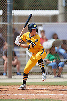 Johnny Castagnozzi (5) during the WWBA World Championship at the Roger Dean Complex on October 10, 2019 in Jupiter, Florida.  Johnny Castagnozzi attends Massapequa High School in Massapequa Park, NY and is committed to North Carolina.  (Mike Janes/Four Seam Images)