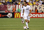 10 AUG 2010: Landon Donovan (USA). The United States Men's National Team lost to the Brazil Men's National Team 0-2 at New Meadowlands Stadium in East Rutherford, New Jersey in an international friendly soccer match.