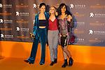 51 Festival Internacional de Cinema Fantastic de Catalunya-Sitges 2018.<br /> Blood Red Carpet.<br /> Georgina Amoros, Laia Manzanares &amp; Katrin Vankova.