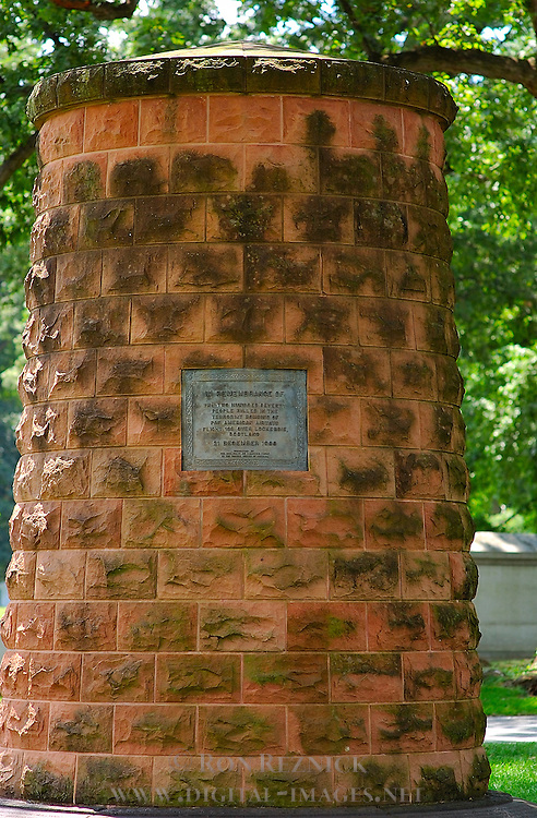 Lockerbie Memorial Cairn, Arlington National Cemetery, Arlington, Virginia