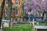 Old Pine Street Presbyterian Church cemetery, Philadelphia, Pennsylvania, USA
