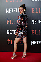 Maria Pedraza attends to 'Elite' premiere at Museo Reina Sofia in Madrid, Spain. October 02, 2018. (ALTERPHOTOS/A. Perez Meca) /NortePhoto.com NORTEPHOTOMEXICO