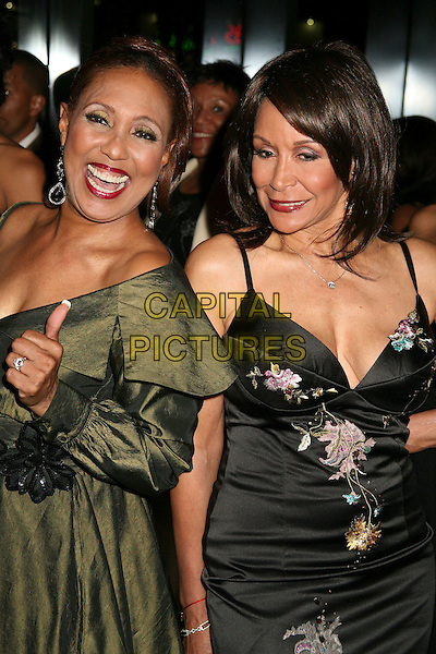 THELMA HOPKINS & FREDA POWE.NAACP 17th Annual Theatre Awards Honoree & Nominee Announcments at the Directors Guild, West Hollywood, California, USA, 19 February 2007..half length.CAP/ADM/BP.©Byron Purvis/AdMedia/Capital Pictures.