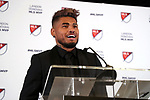 ATLANTA, GA - DECEMBER 05: MVP winner, Atlanta United FC's Josef Martinez. The 2018 MLS MVP Presentation was held on December 5, 2018 at the Arthur Blank Family Center in Atlanta, GA.