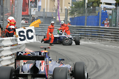 MONACO, Monte Carlo 16.05. 2010 - .Rubens BARRICHELLO, Brazil, Brasilien, Team Williams F1..- formula one, F1, Formula 1,  Motorsport - Formel 1 -