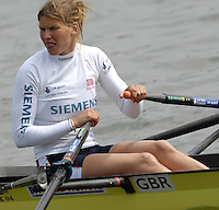 Reading, GREAT BRITAIN, W2X Elise LAVERICK and Anna BEBINGTON, GB Rowing 2007 FISA World Cup Team Announcement, at the GB Training centre, Caversham, England on Thur. 26.04.2007  [Photo, Peter Spurrier/Intersport-images]..... , Rowing course: GB Rowing Training Complex, Redgrave Pinsent Lake, Caversham, Reading