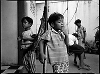 Siem Reap, Cambodia, December 2006?.Children in an orphenage.