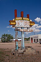 Ranch House Cafe in Tucumcari, New Mexico on Route 66 is one of the many business that could not survice.