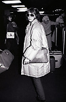 Penny Marshall at Kennedy Airport on February 30, 1982 in New York City.