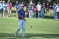 Shubhankar Sharma (IND) watches his approach shot on 2  during round 4 of the World Golf Championships, Mexico, Club De Golf Chapultepec, Mexico City, Mexico. 3/4/2018.<br /> Picture: Golffile | Ken Murray<br /> <br /> <br /> All photo usage must carry mandatory copyright credit (&copy; Golffile | Ken Murray)