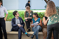 Occidental College's Undergraduate Research Center hosts their annual Summer Undergraduate Research Conference on July 31, 2019. Student researchers presented their work as either oral or poster presentations at this final conference. The program lasts 10 weeks and involves independent research in all departments.<br /> (Photo by Marc Campos, Occidental College Photographer)