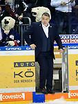 08.03.2019, Mercedes Benz Arena, Berlin, GER, 1.DEL, EISBAEREN BERLIN  VS.  Straubing Tigers, im Bild <br /> Cheftrainer Stephane Richer (Eisbaeren Berlin)<br /> <br />      <br /> Foto &copy; nordphoto / Engler