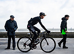 Chris Froome (GBR) Team Ineos at sign on before the start of Stage 3 of the 2019 Tour de Yorkshire, running 132km from Brindlington to Scarborough, Yorkshire, England. 4th May 2019.<br /> Picture: ASO/SWPix/Alex Broadway | Cyclefile<br /> <br /> All photos usage must carry mandatory copyright credit (&copy; Cyclefile | ASO/SWPix/Alex Broadway)