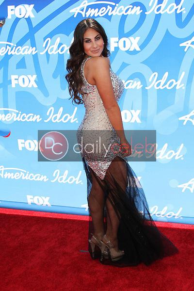 Mikalah Gordon<br /> at the American Idol Season 12 Finale Arrivals, Nokia Theater, Los Angeles, CA 05-16-13<br /> David Edwards/DailyCeleb.Com 818-249-4998
