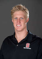 STANFORD, CA - September 9, 2010: Conner Cleary , 2010 Waterpolo portraits.