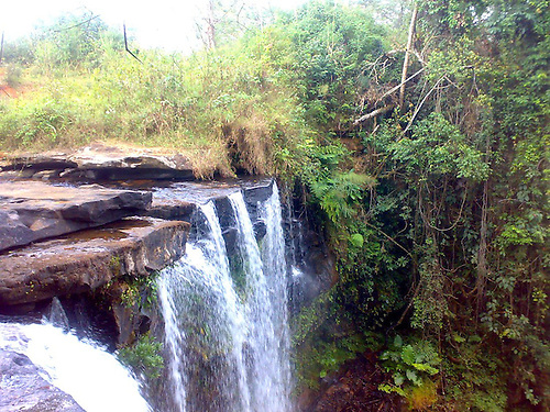 LAOS CAPTIVATING PAKSONG PROVINCE WATERFALLS