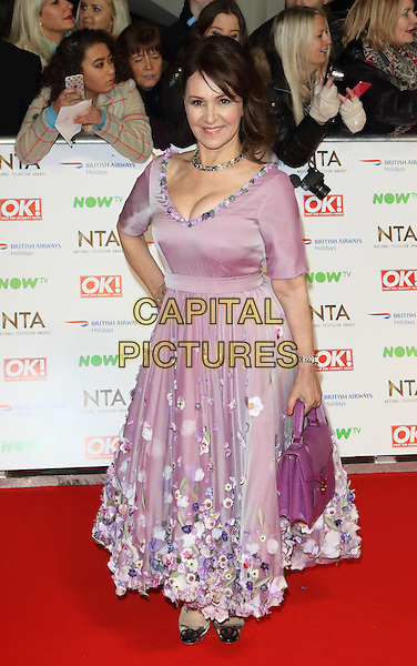 LONDON, ENGLAND - Arlene Phillips at the National Television Awards 2016 Red Carpet arrivals at the O2 Arena on January 20th 2016 in London, England<br /> CAP/ROS<br /> &copy;ROS/Capital Pictures