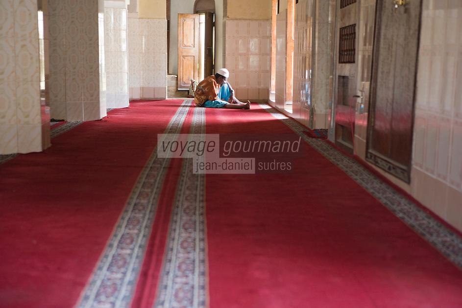 Afrique/Afrique de l'Est/Tanzanie/Zanzibar/Ile Unguja/Stone Town: Prière à la mosquée