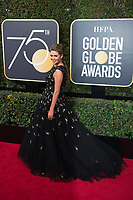Carly Steel arrives at the 75th Annual Golden Globe Awards at the Beverly Hilton in Beverly Hills, CA on Sunday, January 7, 2018.<br /> *Editorial Use Only*<br /> CAP/PLF/HFPA<br /> &copy;HFPA/Capital Pictures