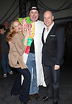Katie Finneran, Merwin Foard, Anthony Warlow  attending the Broadway Opening Night Performance  Gypsy Robe Ceremony celebrating Merwin Foard recipient  for 'Annie' at the Palace Theatre in New York City on 11/08/2012