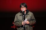 "Tatsuya Mori, November 05, 2019 - Tatsuya Mori, speak after winning ""Japanese Cinema Splash Best Film Award"" for the film ""i -Documentary of the Journalist-""during the 32nd Tokyo International Film Festival, award ceremony, in Tokyo, Japan on November 05, 2019. (Photo by 2019 TIFF/AFLO)"