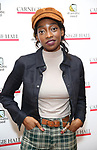 Little Simz attends The Children's Monologues at Carnegie Hall on November 13, 2017 in New York City.