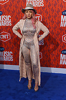 NASHVILLE, TENNESSEE - JUNE 05: Meghan Linsey attends the 2019 CMT Music Awards at Bridgestone Arena on June 05, 2019 in Nashville, Tennessee. <br /> CAP/MPI/IS/NC<br /> ©NC/IS/MPI/Capital Pictures